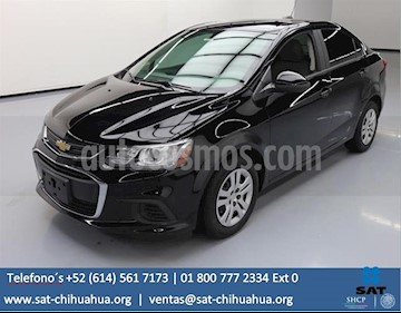 Foto venta Auto Seminuevo Chevrolet Sonic LT (2018) color Negro precio $99,000