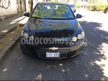 Chevrolet Sonic LT usado (2015) color Gris precio $125,000