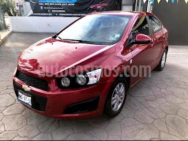 Foto venta Auto Seminuevo Chevrolet Sonic LT (2016) color Rojo Tinto precio $150,000