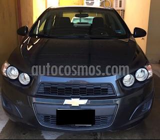 Foto venta Auto usado Chevrolet Sonic LT (2015) color Gris precio $145,000
