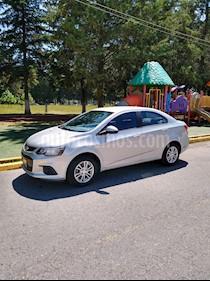 Chevrolet Sonic LT usado (2017) color Plata precio $170,000