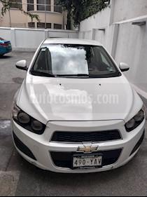 Chevrolet Sonic LT usado (2012) color Blanco Galaxia precio $90,000