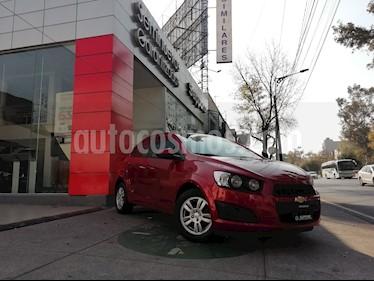 Foto venta Auto Seminuevo Chevrolet Sonic LT (2016) color Rojo Tinto precio $175,000