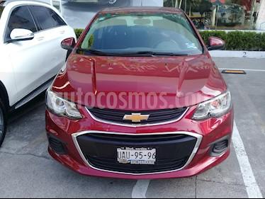 Foto venta Auto Seminuevo Chevrolet Sonic LT (2017) color Vino Tinto precio $185,000