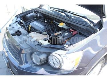 Foto venta Auto usado Chevrolet Sonic LT (2014) color Azul Cosmos precio $128,000