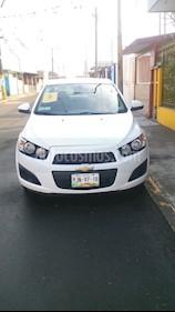 Foto venta Auto usado Chevrolet Sonic LT (2015) color Blanco precio $135,000