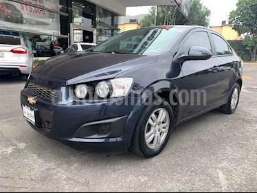 Foto venta Auto usado Chevrolet Sonic LT (2016) color Azul precio $140,000