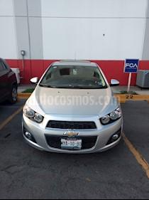 Chevrolet Sonic LTZ Aut usado (2016) color Plata Brillante precio $170,000