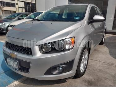 Foto venta Auto usado Chevrolet Sonic LTZ Aut (2014) color Plata Brillante precio $148,000
