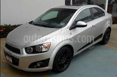 Foto venta Auto usado Chevrolet Sonic LTZ Aut (2015) color Plata precio $140,000