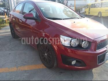 Foto venta Auto usado Chevrolet Sonic LTZ Aut (2016) color Rojo Tinto precio $179,000