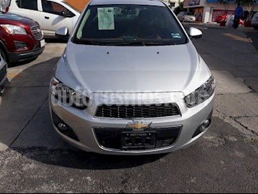 Foto venta Auto usado Chevrolet Sonic LTZ Aut (2016) color Plata Brillante precio $152,000