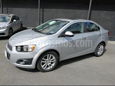 Foto venta Auto usado Chevrolet Sonic LTZ Aut (2014) color Plata precio $159,000