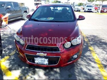 Foto venta Auto usado Chevrolet Sonic LTZ Aut (2016) color Rojo Tinto precio $178,500
