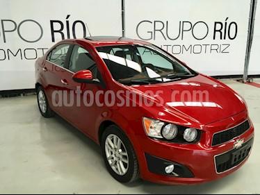 Chevrolet Sonic LTZ Aut usado (2012) color Rojo Tinto precio $123,000