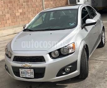 Foto venta Auto usado Chevrolet Sonic LTZ Aut (2013) color Plata Brillante precio $140,000