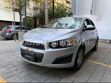 Foto Chevrolet Sonic LTZ Aut usado (2015) color Plata precio $145,000
