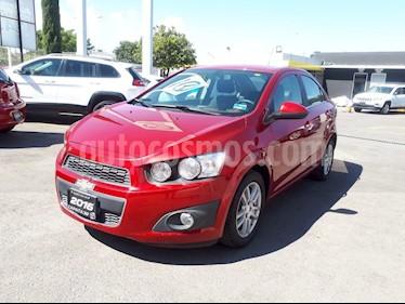 Foto Chevrolet Sonic LTZ Aut usado (2016) color Rojo Tinto precio $180,000