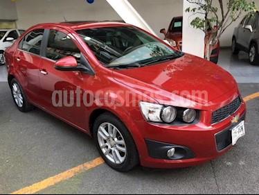 Foto venta Auto usado Chevrolet Sonic LTZ Aut (2016) color Rojo precio $189,000