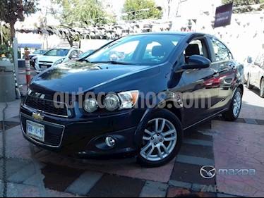 Foto venta Auto Seminuevo Chevrolet Sonic LTZ Aut (2015) color Azul Naval precio $160,000
