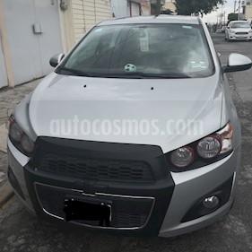 Foto Chevrolet Sonic LTZ Aut usado (2015) color Plata Brillante precio $156,000