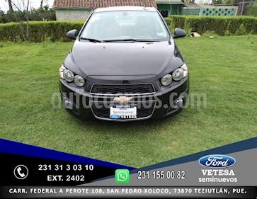 Foto venta Auto usado Chevrolet Sonic LTZ Aut (2015) color Negro precio $149,000