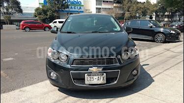 Foto venta Auto usado Chevrolet Sonic LTZ Aut (2016) color Gris precio $175,000