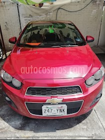 Foto venta Auto usado Chevrolet Sonic LTZ Aut (2012) color Rojo Tinto precio $114,800
