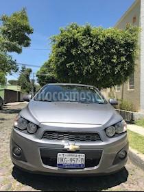 Foto venta Auto usado Chevrolet Sonic LTZ Aut (2012) color Gris precio $117,000