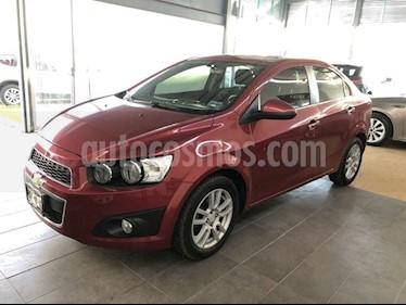 Foto venta Auto Seminuevo Chevrolet Sonic LTZ Aut (2016) color Rojo Tinto precio $185,000