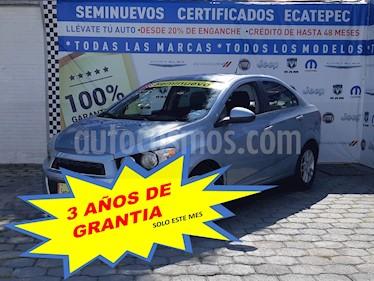 Foto Chevrolet Sonic LTZ Aut usado (2012) color Azul Claro precio $119,000