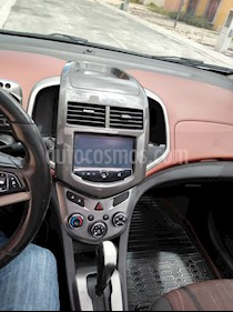 Foto venta Auto usado Chevrolet Sonic LTZ Aut (2015) color Blanco Galaxia precio $140,000