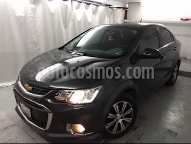 Foto venta Auto usado Chevrolet Sonic LTZ Aut (2017) color Gris Ceniza precio $199,000