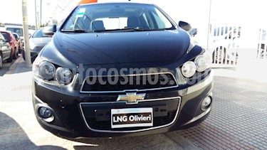 Chevrolet Sonic  LTZ usado (2012) color Negro precio $371.000