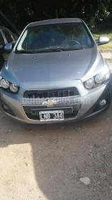 Foto venta Auto usado Chevrolet Sonic  LTZ (2012) color Gris Claro precio $310.000