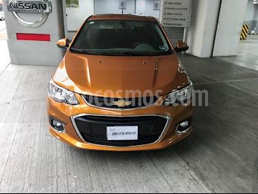 Chevrolet Sonic LTZ Aut usado (2017) color Naranja precio $200,000