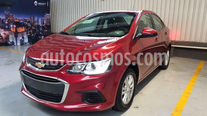 Chevrolet Sonic LT HB usado (2017) color Rojo precio $175,000