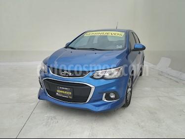 Chevrolet Sonic Paq F usado (2017) color Azul Electrico precio $205,000