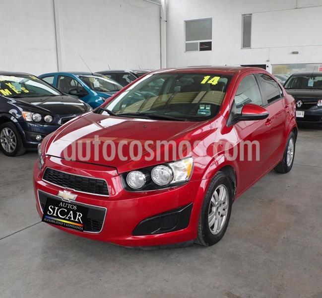 Chevrolet Sonic LT Aut usado (2014) color Rojo precio $119,000