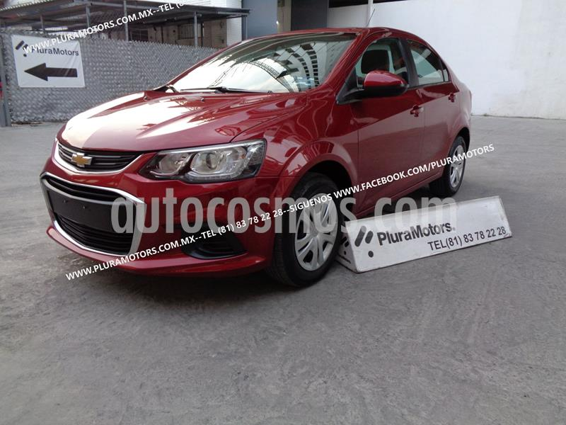Chevrolet Sonic LS usado (2017) color Rojo precio $139,000