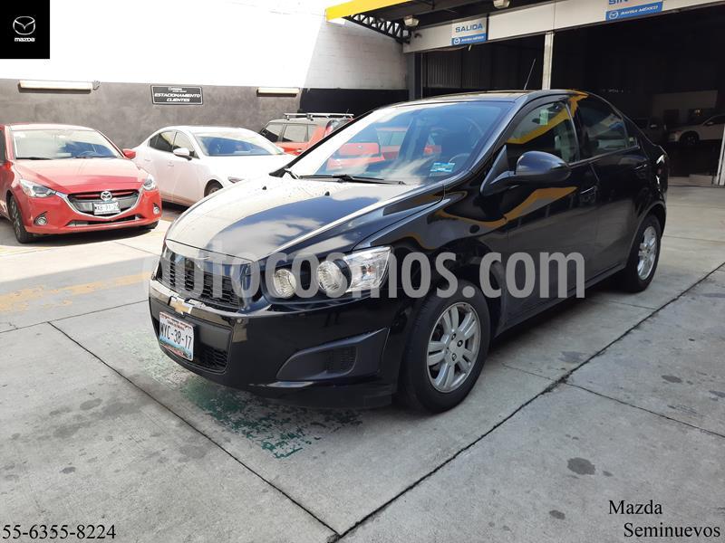 Chevrolet Sonic LT Aut usado (2015) color Negro precio $156,900