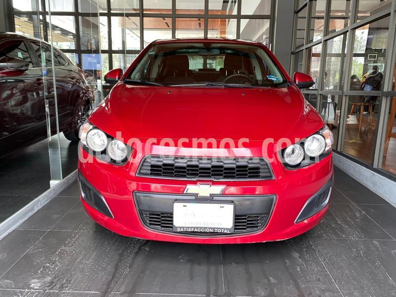 Chevrolet Sonic LT usado (2016) color Rojo precio $143,000