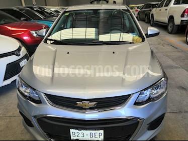 Chevrolet Sonic LT Aut usado (2017) color Plata Brillante precio $185,000