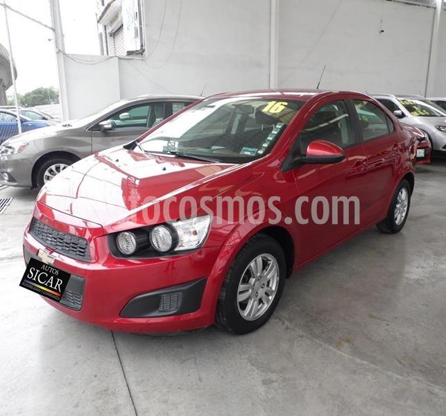 Chevrolet Sonic LT Aut usado (2016) color Rojo precio $149,000