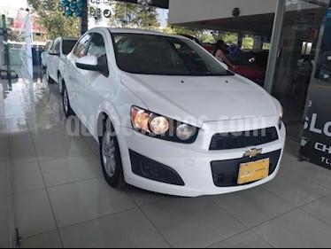 Chevrolet Sonic 4P LT TM5 A/AC. VE BA RA-15 usado (2015) color Blanco precio $138,000
