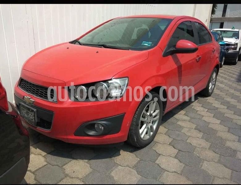 Chevrolet Sonic LTZ Aut usado (2016) color Rojo precio $149,000