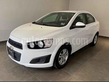 Chevrolet Sonic 4p LS L4/1.6 Man usado (2016) color Blanco precio $160,000