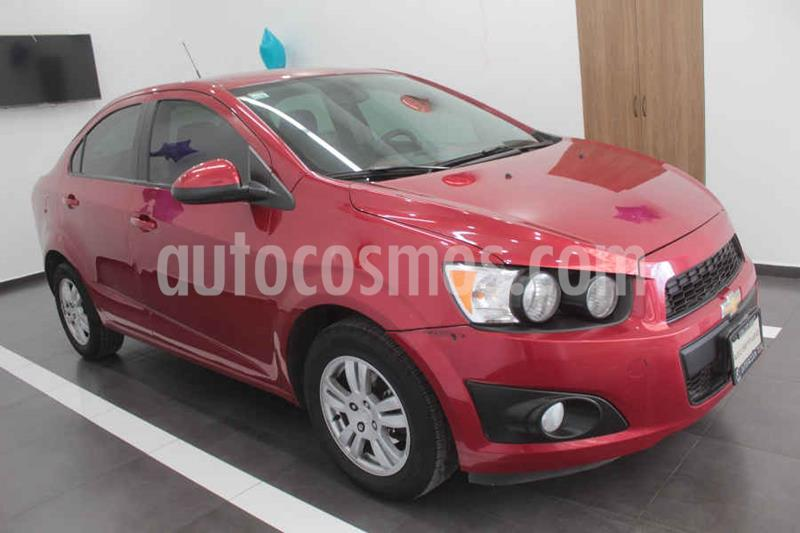 Chevrolet Sonic LT usado (2015) color Rojo precio $133,000