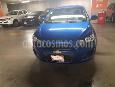 Chevrolet Sonic Paq D usado (2017) color Azul Electrico precio $135,000