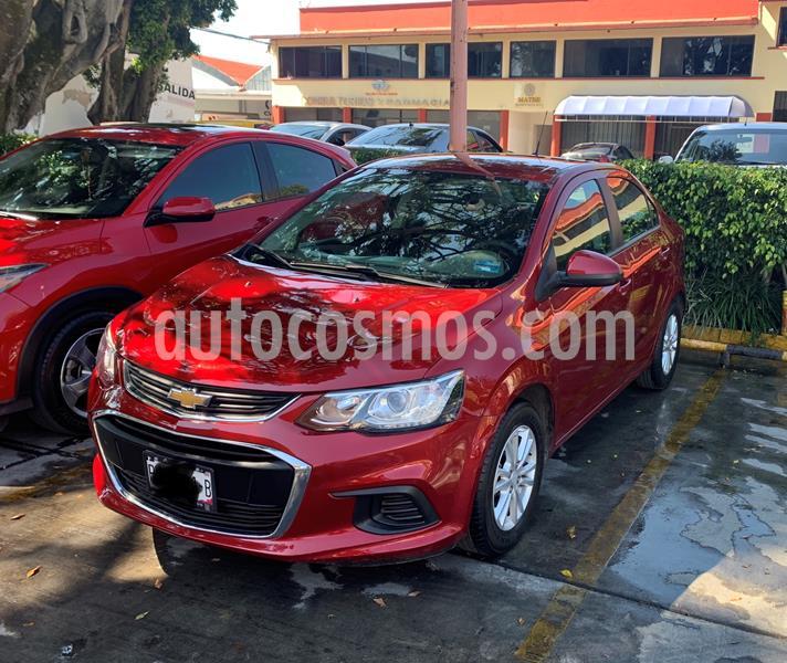 Chevrolet Sonic LT usado (2017) color Rojo Tinto precio $160,000
